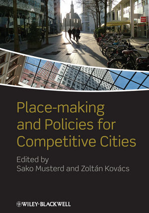 Place-making and Policies for Competitive Cities (0470675039) cover image