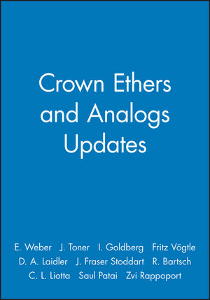 Crown Ethers and Analogs Updates
