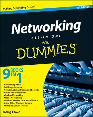 Networking All-in-One For Dummies, 4th Edition (0470904739) cover image