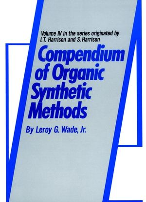 Compendium of Organic Synthetic Methods, Volume 4 (0471049239) cover image