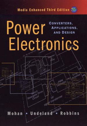 Power Electronics: Converters, Applications, and Design, 3rd Edition (0471226939) cover image