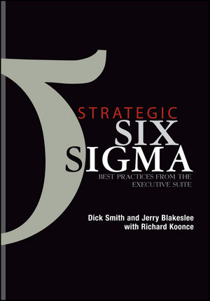 Strategic Six Sigma: Best Practices from the Executive Suite (0471273139) cover image