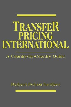 Transfer Pricing International: A Country-by-Country Guide