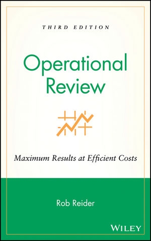 Operational Review: Maximum Results at Efficient Costs, 3rd Edition (0471444839) cover image