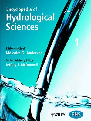 Encyclopedia of Hydrological Sciences, 5 Volume Set (0471491039) cover image