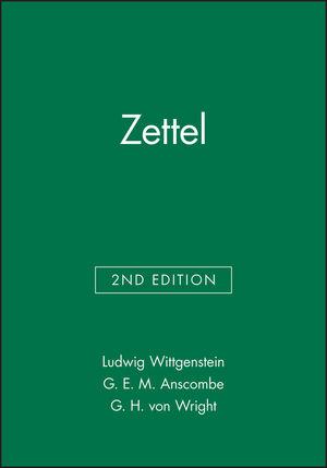 Zettel, 2nd Edition
