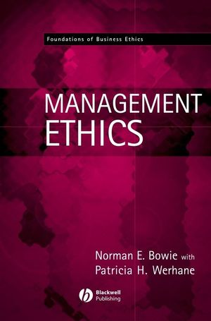 Management Ethics (0631214739) cover image