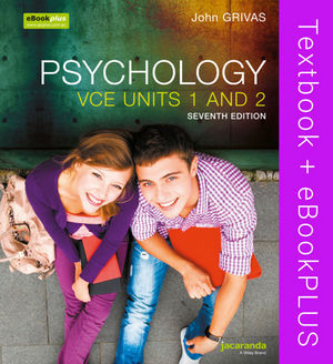 Psychology: VCE Units 1 and 2 & eBookPLUS, 7th Edition