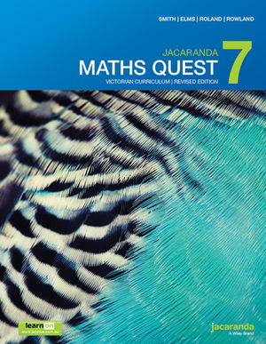 Jacaranda Maths Quest 7 Victorian Curriculum 1st Revised Edition learnON & Print