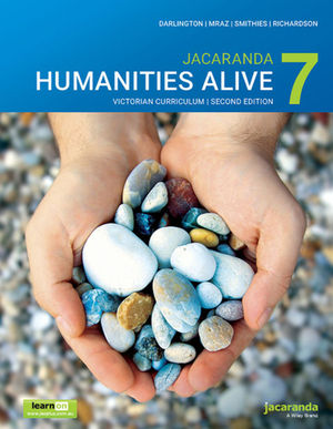 Jacaranda <span class='search-highlight'>Humanities</span> Alive 7 Victorian Curriculum, learnON and Print , 2nd Edition