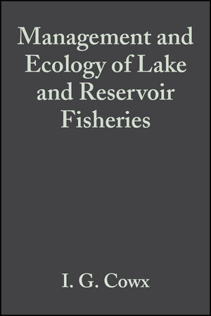 Management and Ecology of Lake and Reservoir Fisheries (0852382839) cover image
