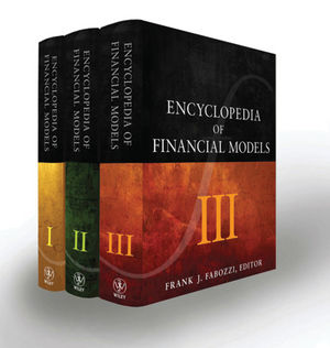 Encyclopedia of Financial Models, 3 Volume Set (1118006739) cover image