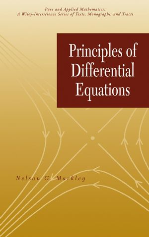 Principles of Differential Equations (1118031539) cover image