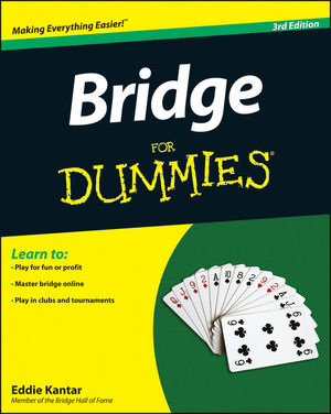 Bridge For Dummies, 3rd Edition (1118240839) cover image