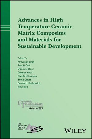 Advances in High Temperature Ceramic Matrix Composites and Materials for Sustainable Development (1119406439) cover image