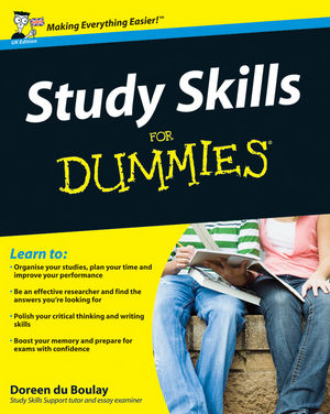 Study Skills For Dummies (1119997739) cover image