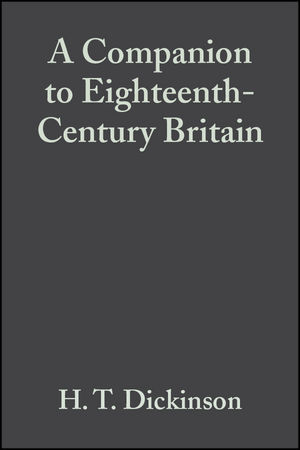 A Companion to Eighteenth-Century Britain (1405149639) cover image
