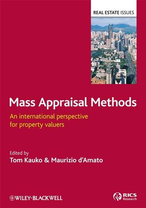 Mass Appraisal Methods: An International Perspective for Property Valuers (1444301039) cover image