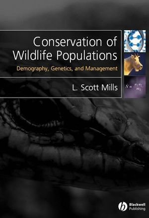 Conservation of Wildlife Populations: Demography, Genetics and Management (1444308939) cover image
