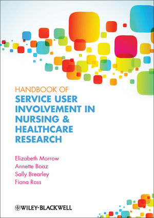 Handbook of User Involvement in Nursing and Healthcare Research (1444347039) cover image