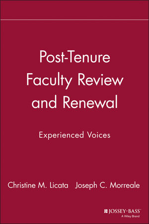 Post-Tenure Faculty Review and Renewal: Experienced Voices (1563770539) cover image