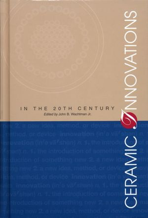 Ceramic Innovations in the 20th Century (1574980939) cover image