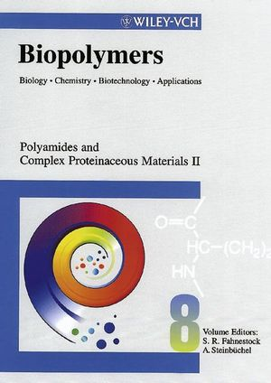 Biopolymers, Biology, <span class='search-highlight'>Chemistry</span>, Biotechnology, Applications, Volume 8, Polyamides and Complex