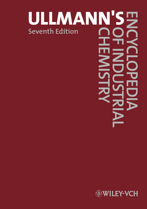 Ullmann's Encyclopedia of Industrial Chemistry, 40 Volume Set, 7th Edition