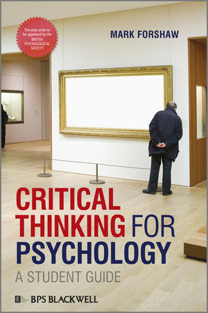 Critical Thinking For Psychology (EHEP001539) cover image