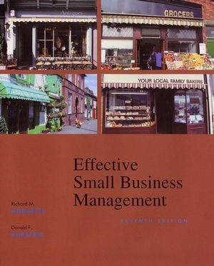 Effective Small Business Management, 7th Edition