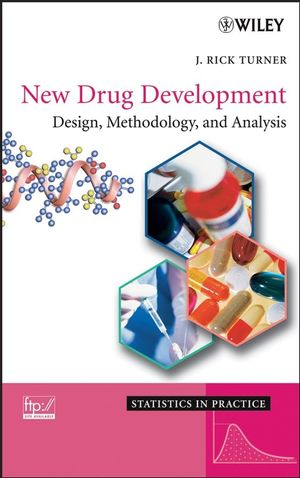 New Drug Development: Design, Methodology, and Analysis (047007373X) cover image
