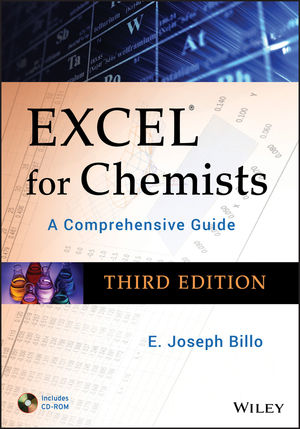Excel for Chemists: A Comprehensive Guide, with CD-ROM, 3rd Edition