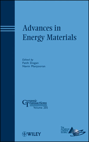 Advances in Energy Materials: Ceramic Transactions, Volume 205 (047040843X) cover image