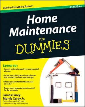 Home Maintenance For Dummies, 2nd Edition (047043063X) cover image