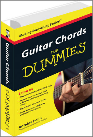 Guitar Chords for Dummies (047066603X) cover image