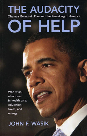 The Audacity of Help: Obama's Stimulus Plan and the Remaking of America (047088553X) cover image
