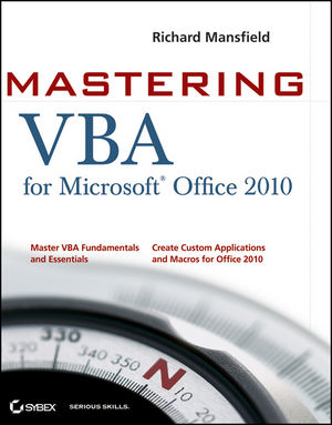 Mastering VBA for Office 2010 (047092263X) cover image
