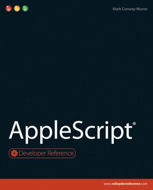 AppleScript (047092473X) cover image