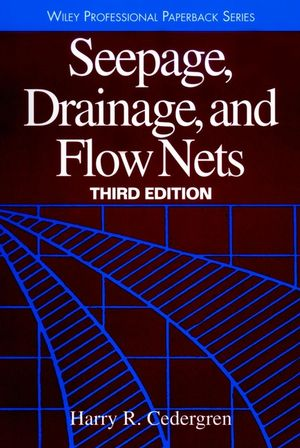 Seepage, Drainage, and Flow Nets, 3rd Edition