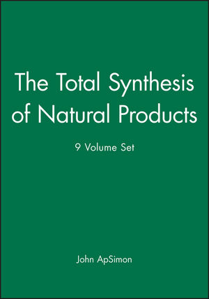 The Total Synthesis of Natural Products, 9 Volume Set (047158083X) cover image