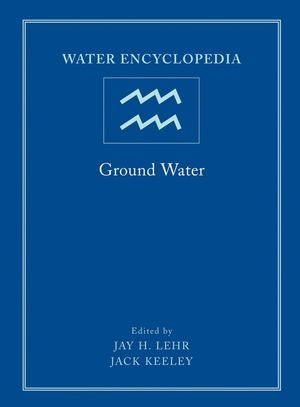 Water Encyclopedia, Volume 5, Ground Water (047173683X) cover image