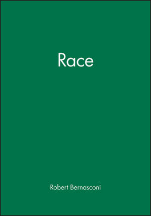 Race (063120783X) cover image