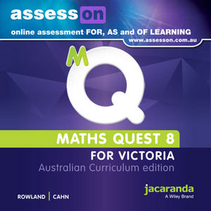 Assesson Maths Quest 8 Australian Curriculum Victoria Edition (Online Purchase)