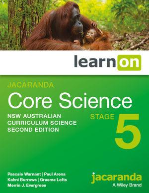 Jacaranda Core Science Stage 5 2e NSW Australian curriculum learnON (Online Purchase)