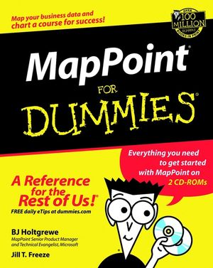 MapPoint For Dummies (076451623X) cover image