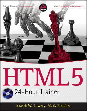 HTML5 24-Hour Trainer (111804343X) cover image