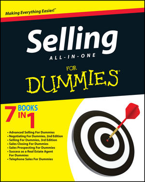 Selling All-in-One For Dummies (111806593X) cover image