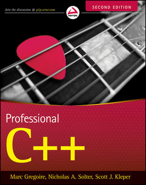 Professional C++, 2nd Edition (111816993X) cover image