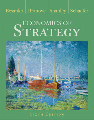 Economics of Strategy, 6th Edition (111827363X) cover image