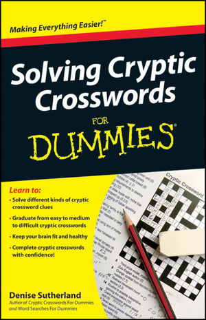 Solving Cryptic Crosswords For Dummies (111830523X) cover image